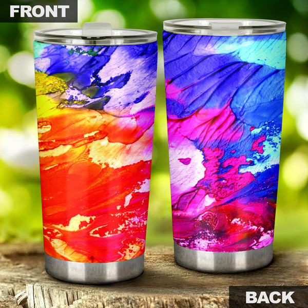 Abstract Oil Paintings P2 - Travel Tumbler