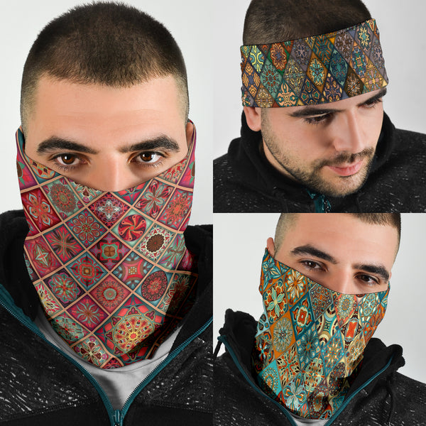 Diamond Mandalas Mix 2 - Bandana 3 Pack