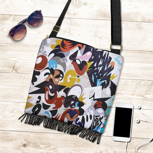 Street Art CB229357 - Crossbody Boho Bag