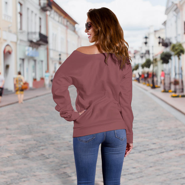 Maven Powerlips - Women's Off Shoulder Sweater