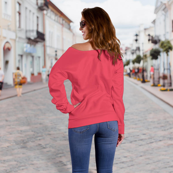 Explore Powerlips - Women's Off Shoulder Sweater