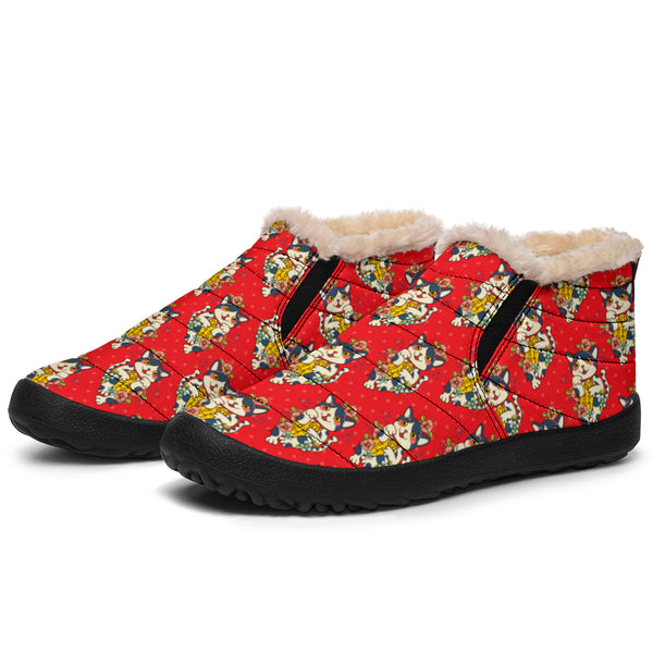 Japanese Kitty Cats P1 - Winter Ankle Casuals