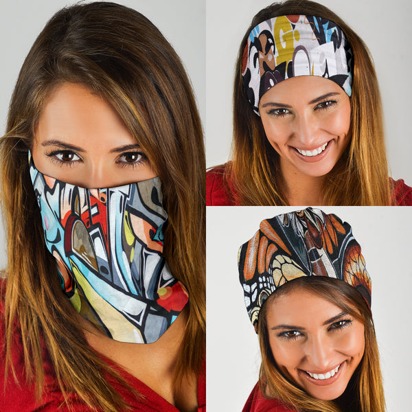 Graffiti Street Art Set - Bandana 3 Pack