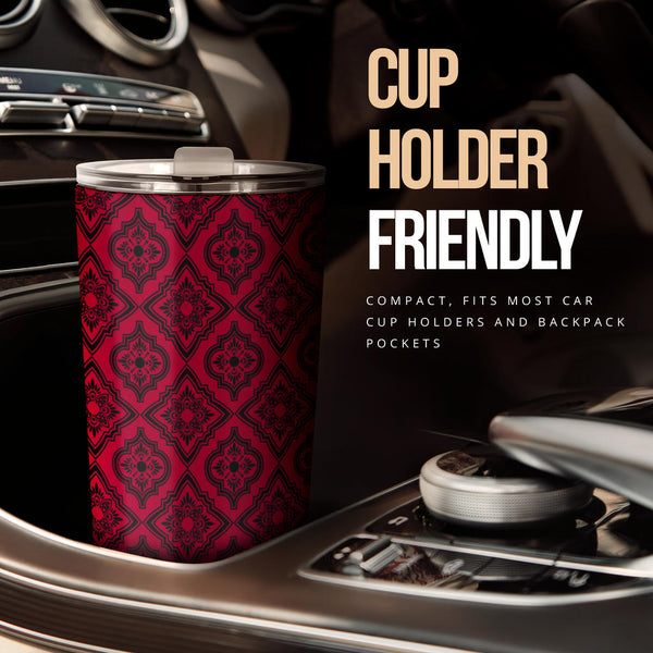 Persian Title (Jester Red) - Travel Tumbler