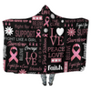 Breast Cancer Awareness - Hooded Blankets