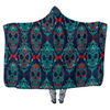 Skull Damask Style - Hooded Blankets