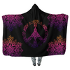 Pinky Peace Mandala - Hooded Blankets