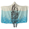 Fishing Life - Hooded Blankets