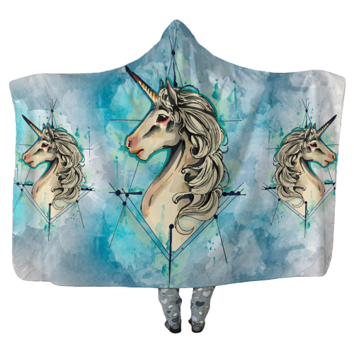 Unicorn Universe - Hooded Blankets