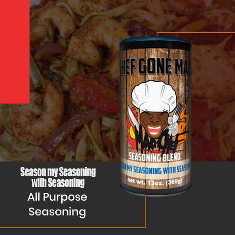 Supa Cent Seasoning | Chef Gone Mad