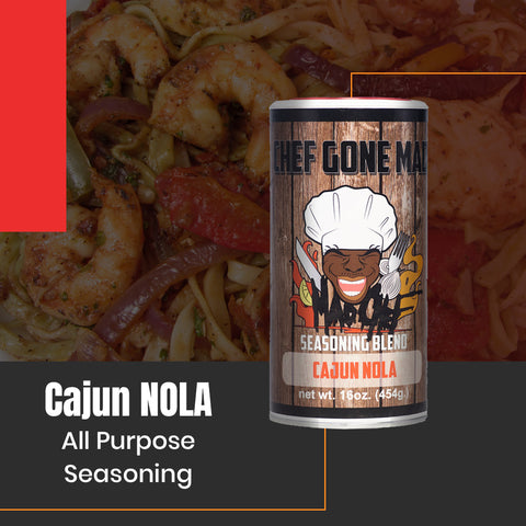 Louisiana's Best Cajun Seasoning