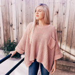 Cozy Chenille Pocket Sweater