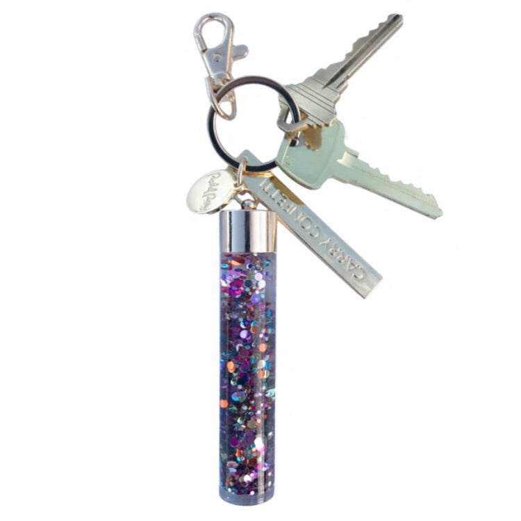Carry Confetti Keychain by packed party