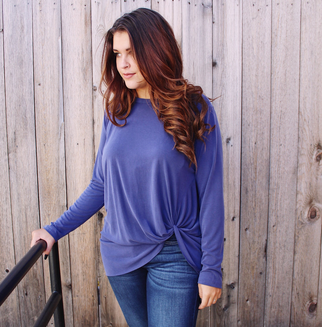 Knot Tops (long sleeve)