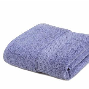100% Cotton Solid Bath Towel Beach Towel For Adults Fast Drying - Browser-buy.com