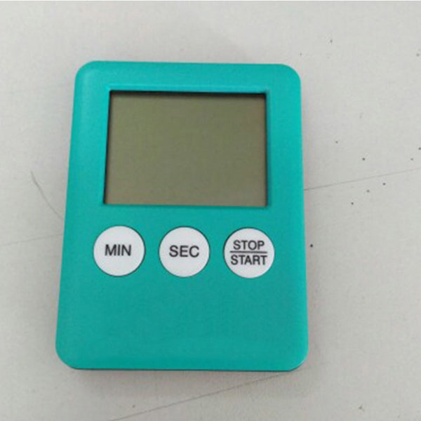 1pcs 5 Colors Super Thin LCD Digital Screen Kitchen Timer Square - Browser-buy.com