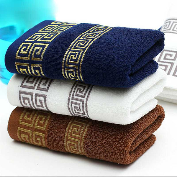 Luxury Men Face Towel Linge De Toilette Super Soft 100% Cotton Towel - Browser-buy.com