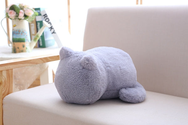 Ashin Cat plush cushions pillow Back Shadow Cat Filled - Browser-buy.com