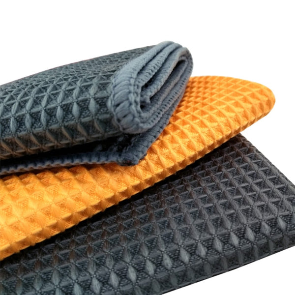 High quality Car Wash Towel strong Microfiber Window Clean Wipes Auto - Browser-buy.com