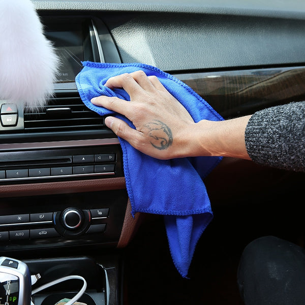 Hot Selling!Wholesale 28*28cm Soft Microfiber Cleaning Towel - Browser-buy.com