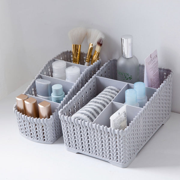MeyJig Large Capacity Makeup Organizer Cosmetic Storage Box - Browser-buy.com
