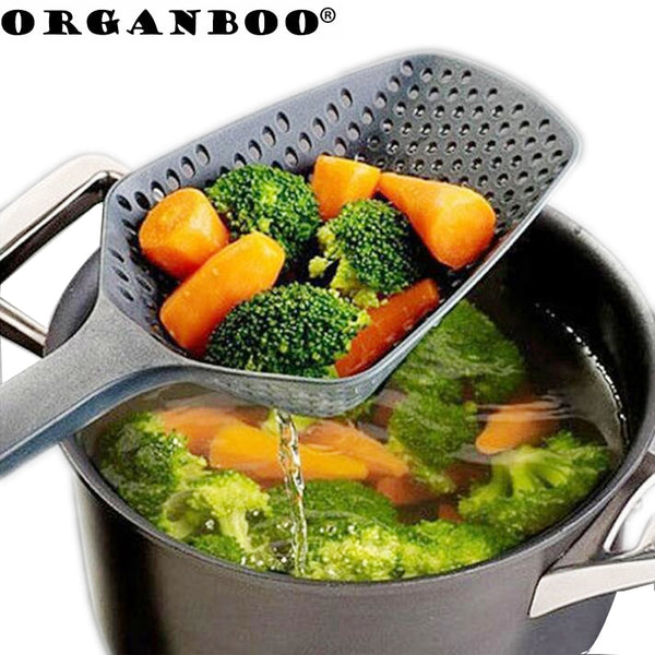 1PC Kitchen Accessories Gadgets Nylon Strainer Scoop - Browser-buy.com