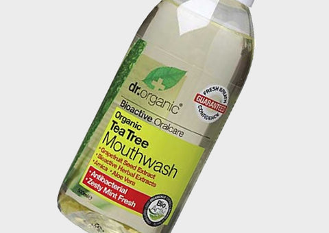 Dr Organic Antibacterial Tea Tree Mouthwash