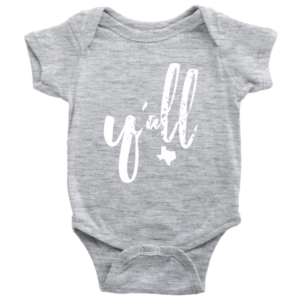 Y'all Baby Onesie (other colors available)