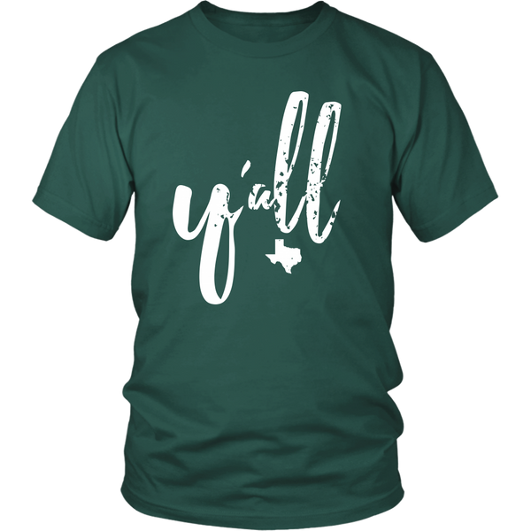 Y'all T-shirt (other colors available)