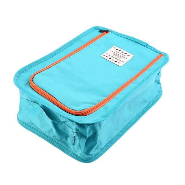 1Pc Shoes Storage Bag Travel Portable Waterproof Tote Shoes Pouch Dry Shoe Organizer Toiletries Laundry Shoe Pouch Hot