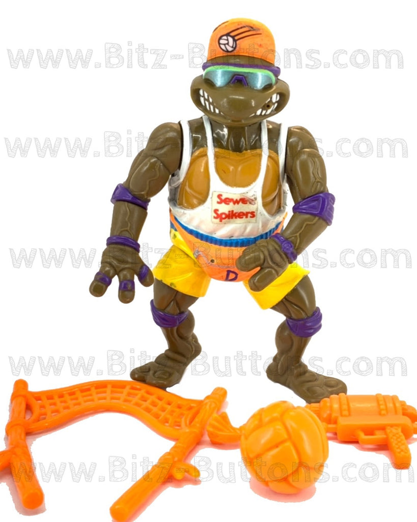 Spike N' Volley Donatello (TMNT Complete, Playmates)
