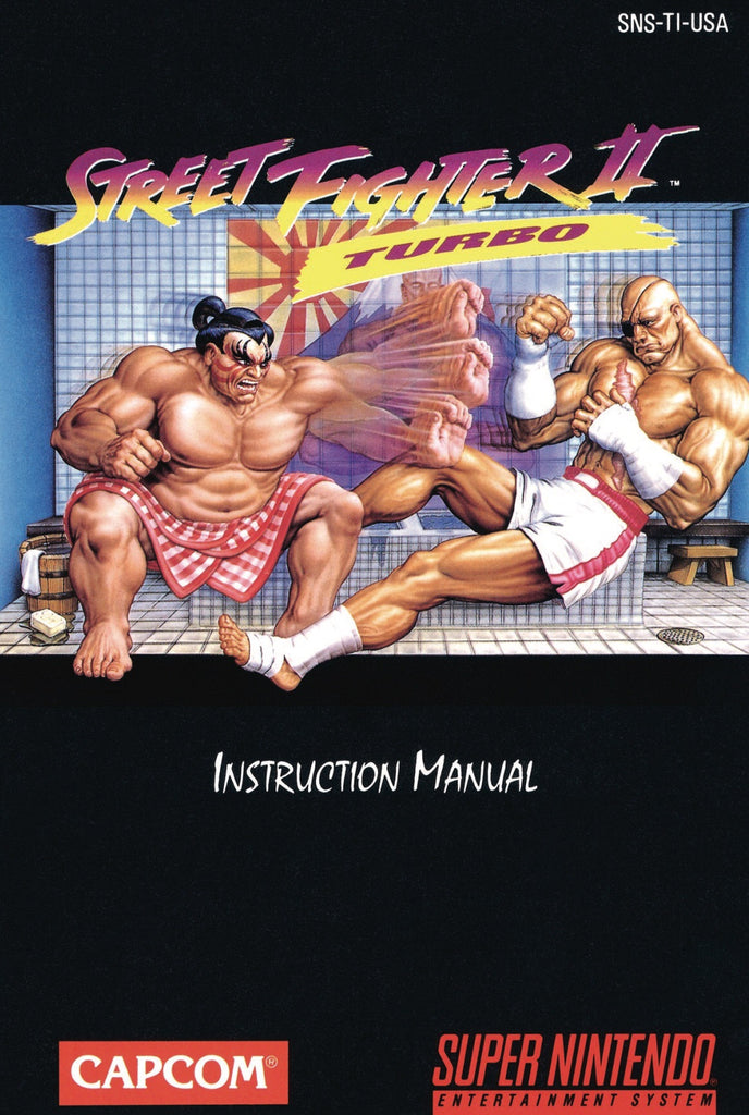 Street Fighter II: Turbo (Manual Only, SNES)