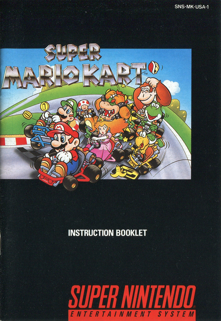 Super Mario Kart (Manual Only, SNES)