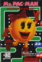 Ms. Pac-Man (Manual Only, SNES)