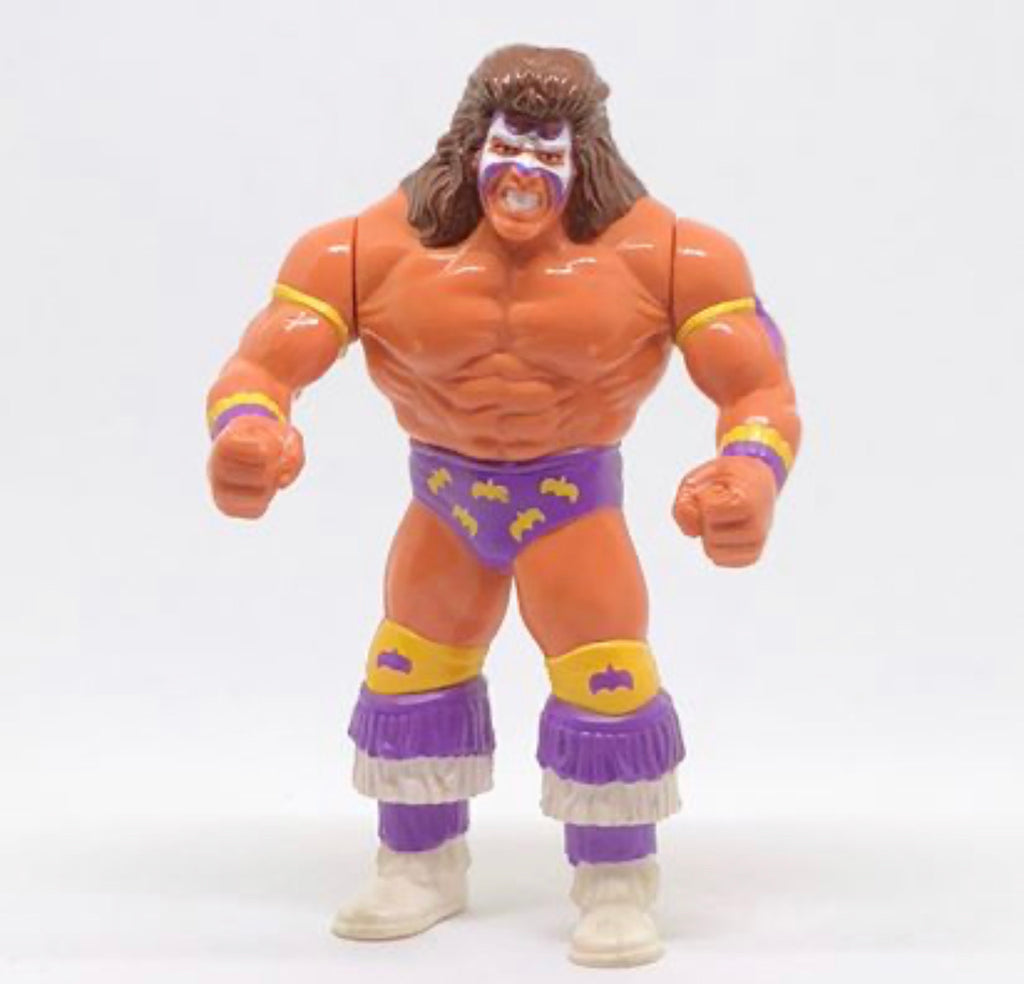 Ultimate Warrior Purple Trunks (WWF, Hasbro)