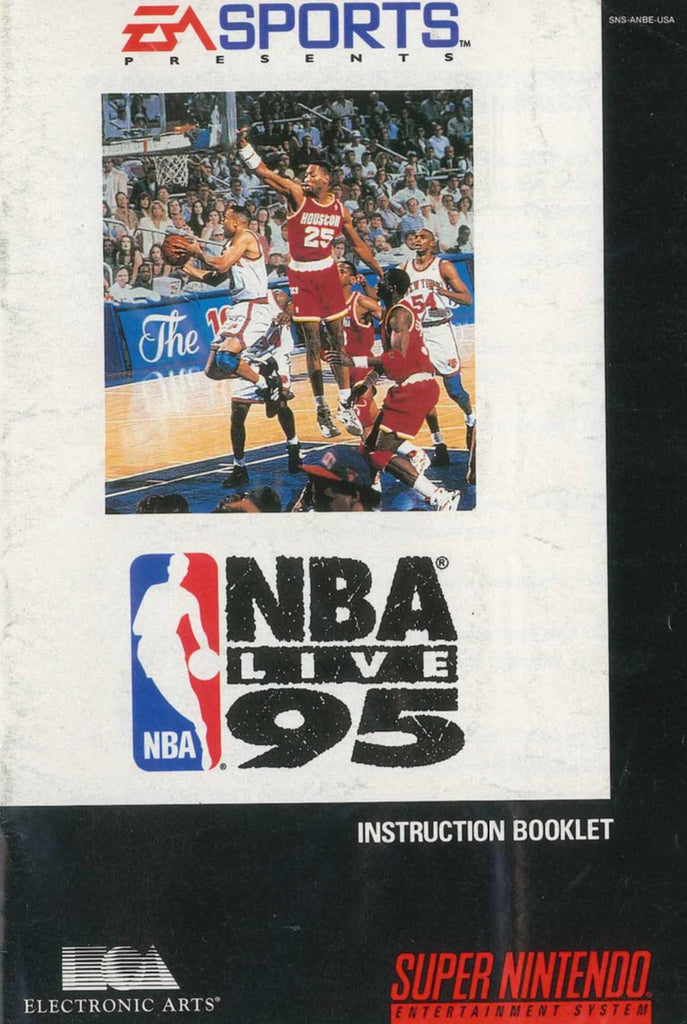 NBA Live 95 (Manual Only, SNES)