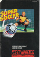 Super Soccer (SNES, Manual Only)