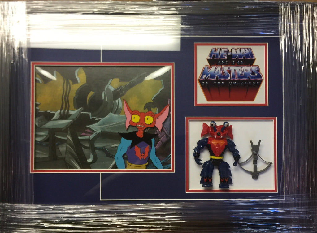 Master of the Universe: Mantenna Animation Cel & Figure (Framed & Matted)