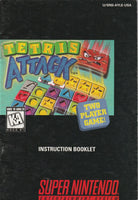 Tetris Attack (SNES, Manual Only)