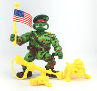 Raph The Green Teen Beret (TMNT, Mutant Military)