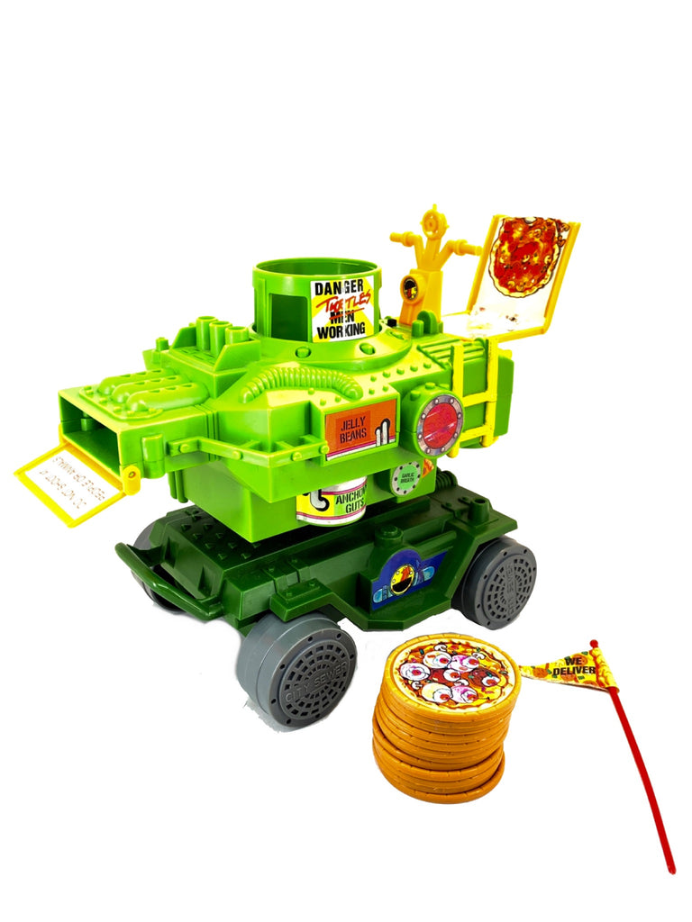Pizza Thrower (TMNT Complete, Playmates)