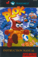 Plok (Manual Only, SNES)