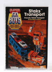 Staks Transport (Super GoBots, Tonka) **CAS Graded 85+**