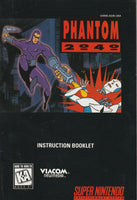 Phantom 2040 (SNES, Manual Only)