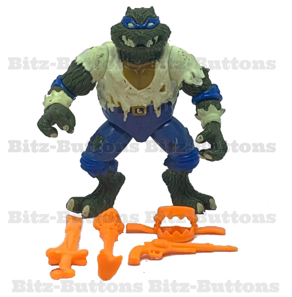 Leo as Wolfman (TMNT, Playmates)