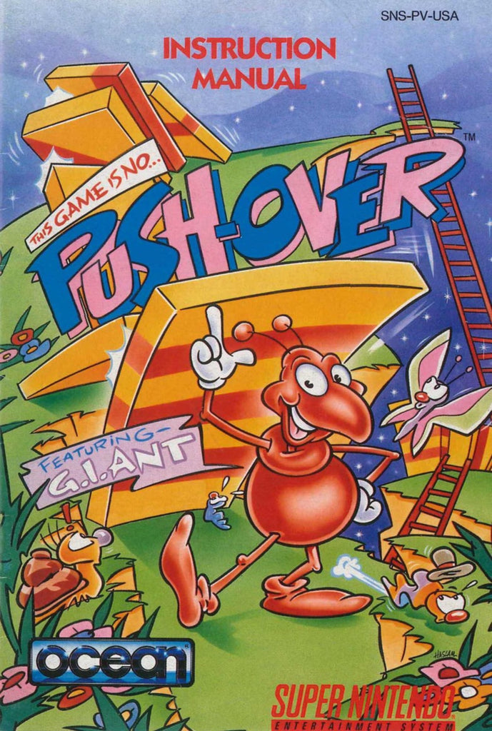 Pushover (Manual Only, SNES)