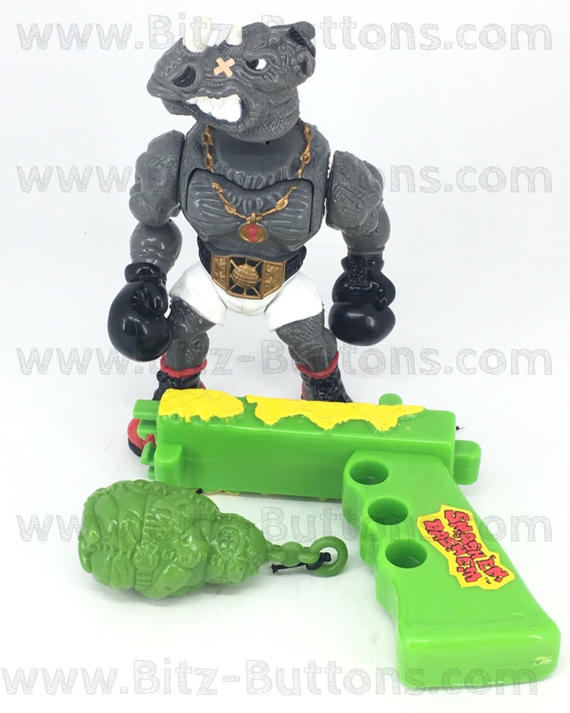 Power Punchin Rocksteady (TMNT, Playmates)