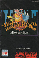 We're Back: A dinosaur Story (SNES, Manual Only)