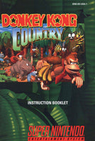 Donkey Kong Country (Manual Only, SNES)