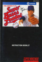 Super Bases Loaded (Manual Only, SNES)